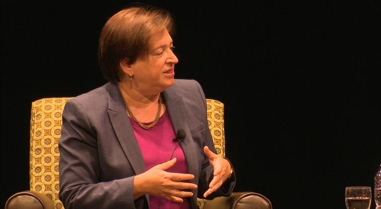 University Place: A Discussion with Associate Justice Elena Kagan
