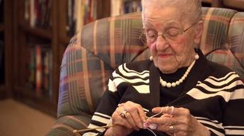 103-Year-Old Knitter
