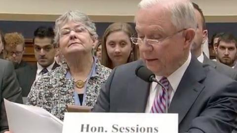 Washington Week -- Attorney General Jeff Sessions testifies on Capitol Hill