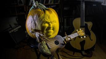 Pumpkin Sculptor, Convention Center Art Preview