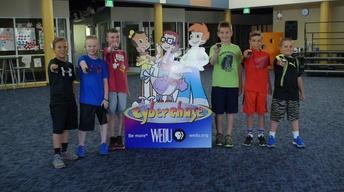 Cyberchase Step It Up Challenge- Sanders Memorial Elementary
