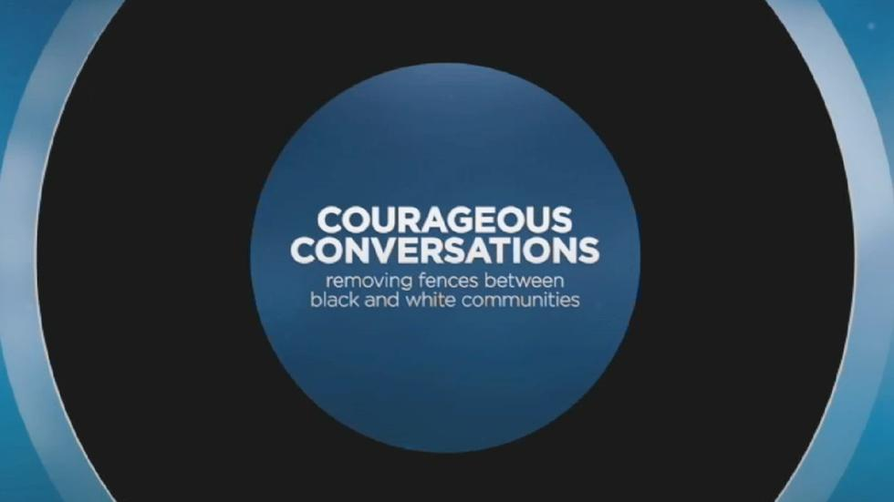 Courageous Conversations: Tearing down fences between black  image