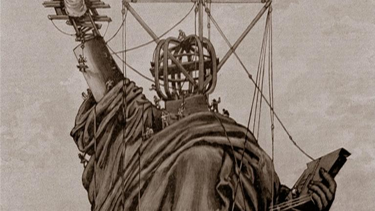 The Statue of Liberty: A Difficult Delivery