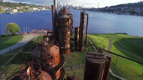 10 That Changed America -- Parks | Gas Works Park, Seattle, WA
