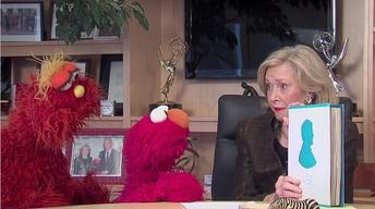 Joan Ganz Cooney, Elmo and Murray and The Gettysburg Address