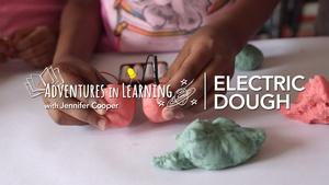Electric Play Dough and Circuits for Kids