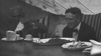 "Henry Ford ""Camping"" with Edison and Firestone"