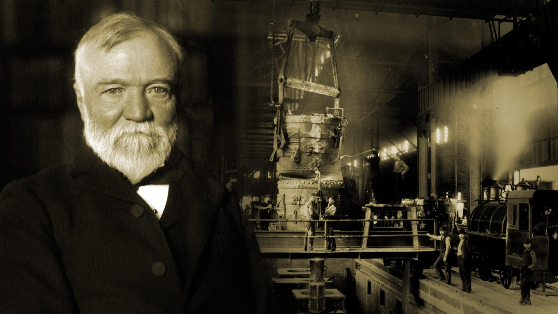 a biography of andrew carnegie a leader in the steel industry Andrew carnegie (november 25, 1835 – august 11, 1919) was a scottish-american industrialist who led the enormous expansion of the american steel industry.