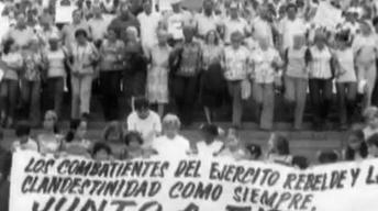 Cuba Newsreels: Queue of Asylum-Seekers, 1980