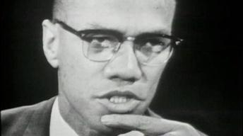 "Malcolm X on ""The Negro and the American Promise"""