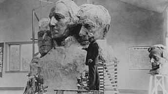 Borglum's Sculpting Technique