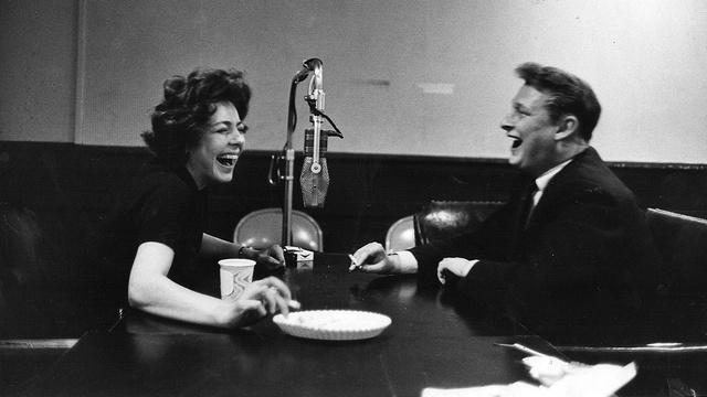 Mike Nichols' Laugh