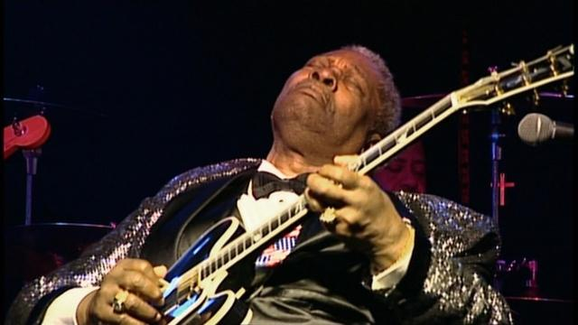B.B. King's Distinctive Guitar Playing