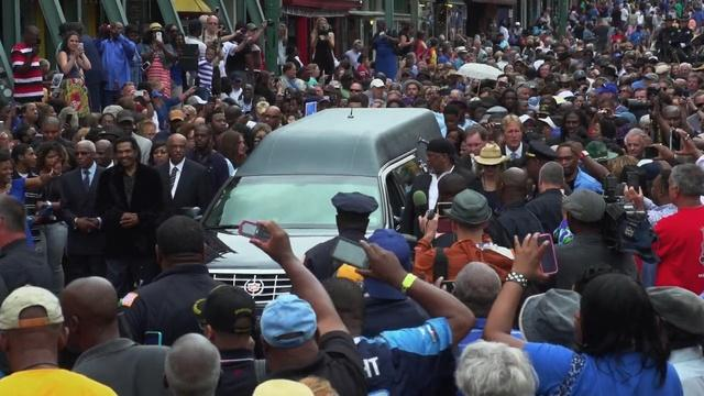 B.B. King's Funeral Procession