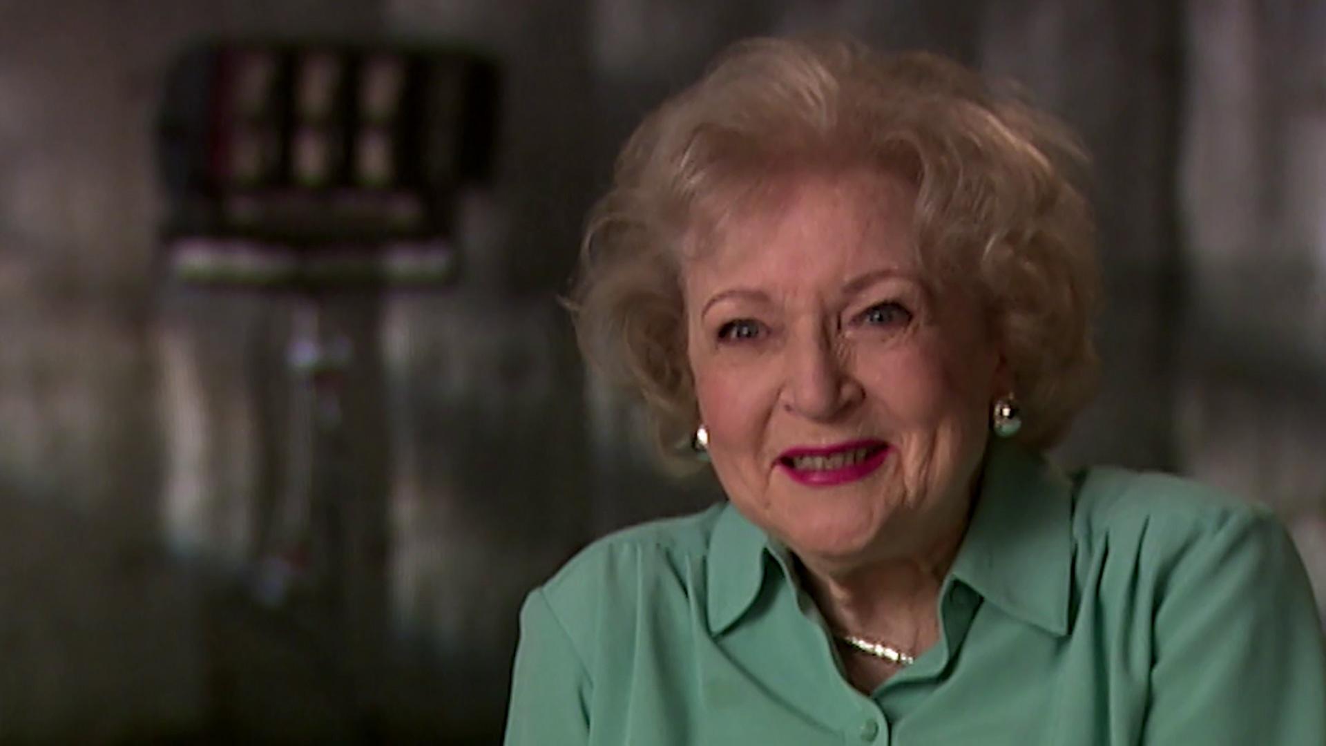 Betty White on Carol Burnett