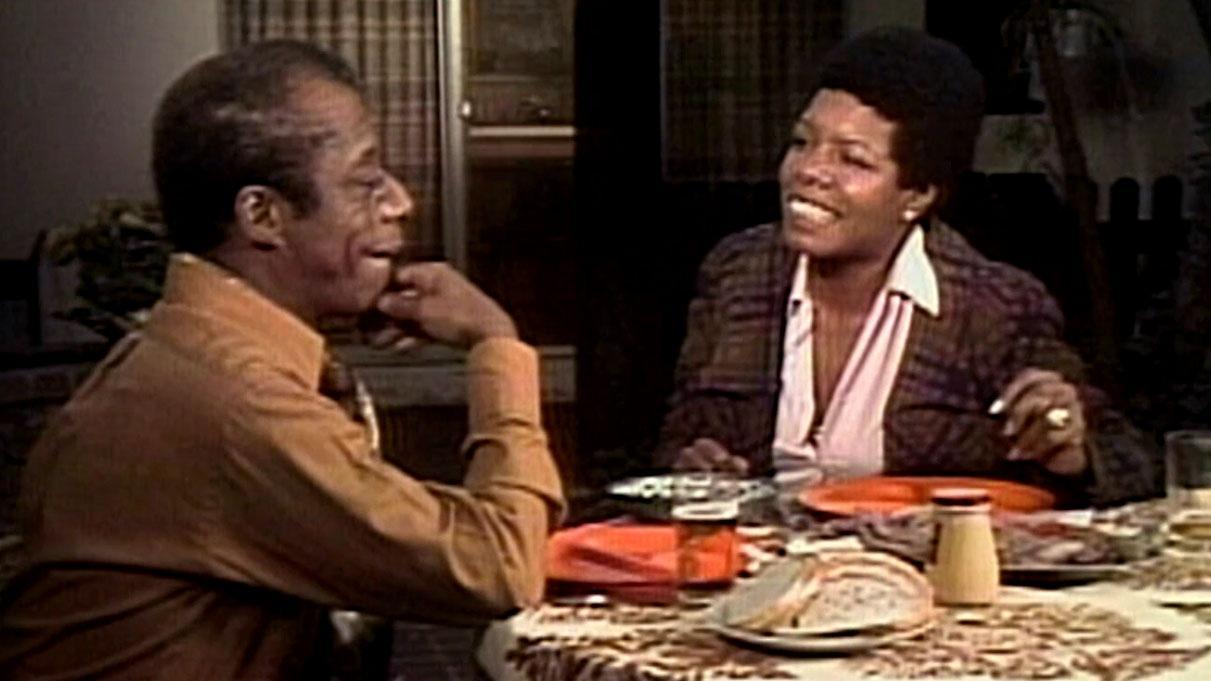 Maya Angelou & James Baldwin