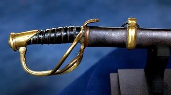 Appraisal: W. J. McElroy Confederate Officer's Sword with...