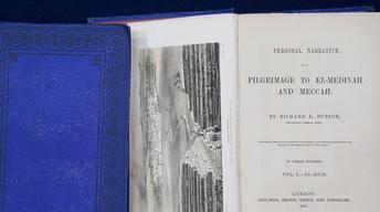"Appraisal: 1855 Richard Burton ""Pilgrimage to Mecca"""