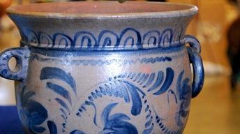 Web Appraisal: 1860 Pennsylvania Stoneware Flower Pot