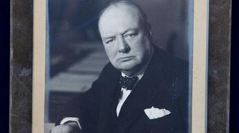 Appraisal: Winston Churchill Archive, ca. 1955