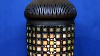 Appraisal: Tiffany Studios Chainmail Fixture, ca. 1905