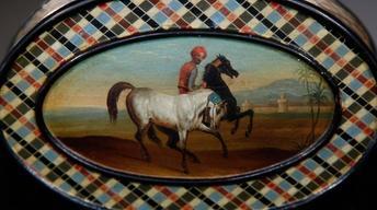 Appraisal: Russian Lukutin Snuffbox, ca. 1840