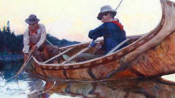 Appraisal: Philip R. Goodwin Oil Painting, ca. 1910