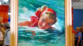 Web Appraisal: Bradshaw Crandell Painting of Esther Williams