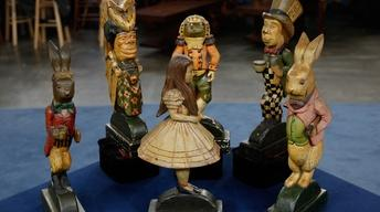 "Appraisal: ""Alice in Wonderland"" Doorstops"