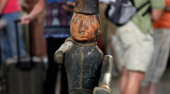 Appraisal: Carved Soldier Whirligig, ca. 1860