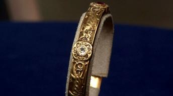 Appraisal: Riker Brothers Gold Bracelet, ca. 1880