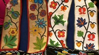 Web Appraisal: Anishinaabe (Ojibwe) Bandolier Bags, ca. 1900