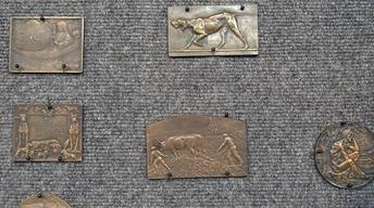 Appraisal: Bronze Medallions, ca. 1910