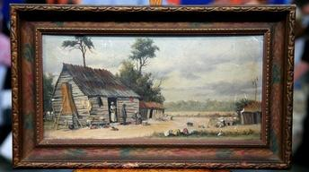 Appraisal: William Aiken Walker Oil Painting