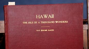 "Appraisal: 1938 Ray Jerome Baker Book, ""Hawaii..."""