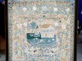 Antiques Roadshow | Appraisal: 1825 Pennsylvania Schoolgirl Sampler