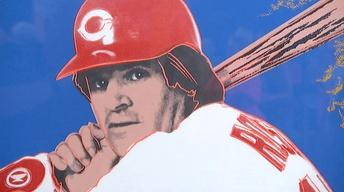 "Appraisal: 1985 Warhol ""Pete Rose"" Screen Print"