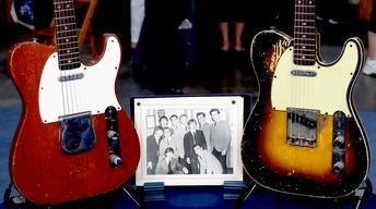 Appraisal: Fender Telecaster Guitars with Beatles Photo