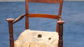 Appraisal: Vernacular Armchair, ca. 1830