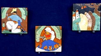 Appraisal: San Jose Pottery Tiles, ca. 1930