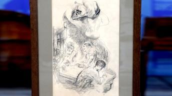 Appraisal: 1941 George Grosz Illustration