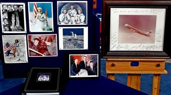 Appraisal: NASA Space Program Autographed Photos