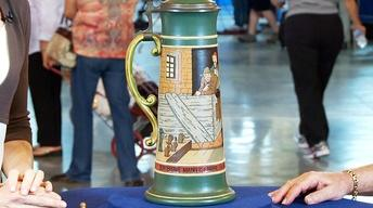 Web Appraisal: German Mettlach Beer Stein, ca. 1907