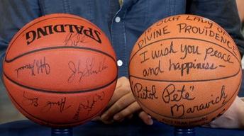 Web Appraisal: Utah Jazz & Maravich Signed Basketballs