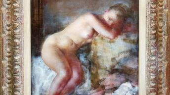 Web Appraisal: Grigory Gluckmann Painting, ca. 1950
