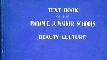 Appraisal: Madam C.J. Walker Beauty Book, ca. 1928