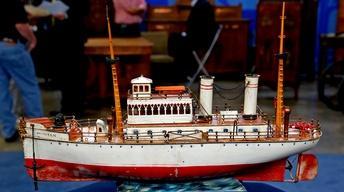 "Appraisal: Marklin ""Puritan"" Toy Boat, ca. 1910"