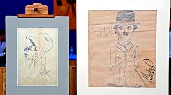 Appraisal: Michael Jackson Drawings, ca. 1973