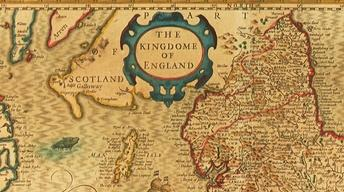 "Web Appraisal: ""Kingdom of England"" Map, ca. 1611"