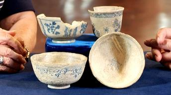 Web Appraisal: French Pottery from Shipwreck, ca. 1740